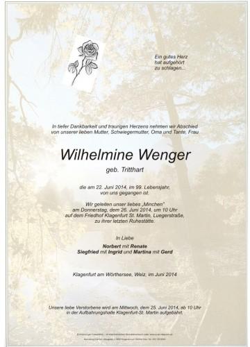 Wilhelmine Wenger