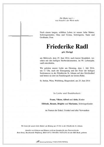 Friederike Radl