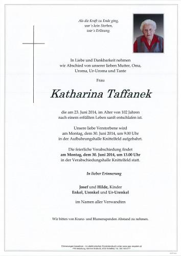 Katharina Taffanek