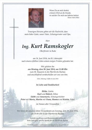 Ing. Kurt Ramskogler
