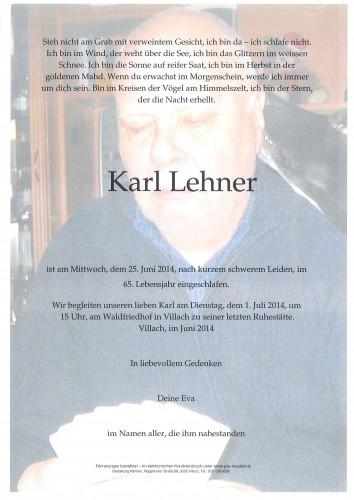Karl Lehner