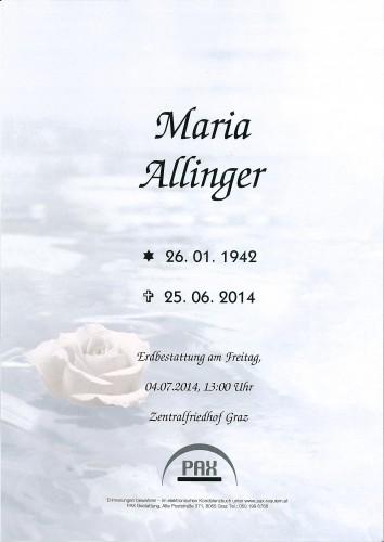 Maria Allinger