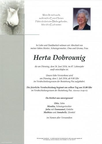 Herta Dobrounig