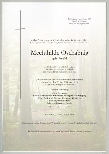 Mechthilde Oschabnig