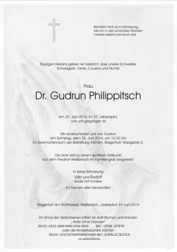 Dr. Gudrun Philippitsch
