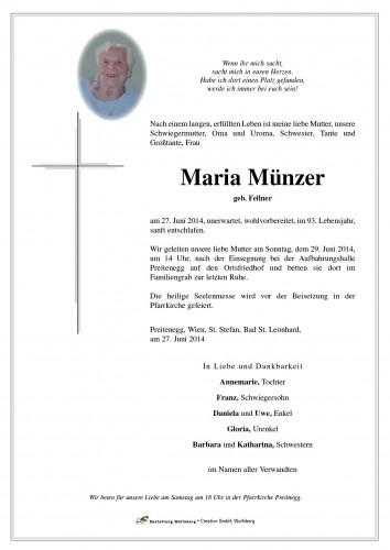 Maria Münzer