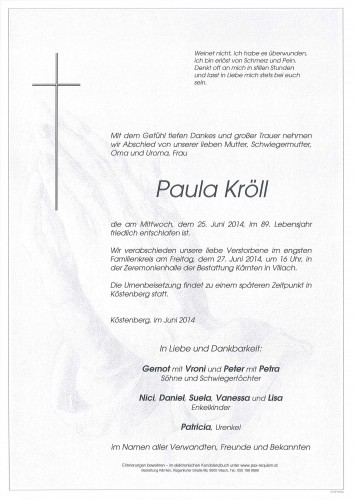 Paula Kröll