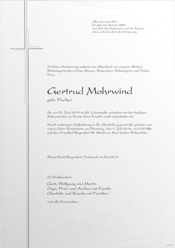 Gertrud Mohrwind