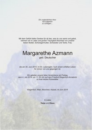 Margarethe Azmann