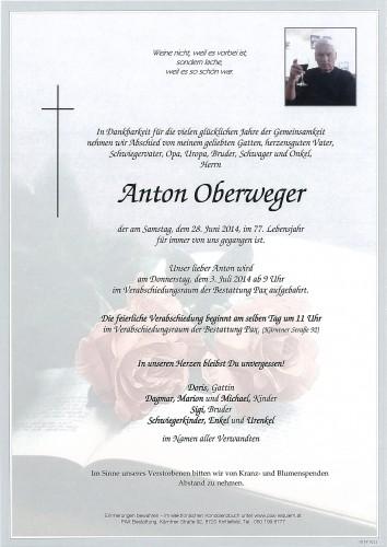 Anton Oberweger