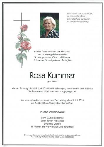 Rosa Kummer