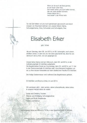 Elisabeth Erker