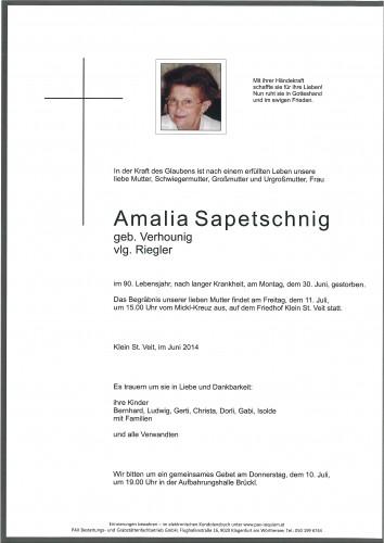 Amalia Sapetschnig