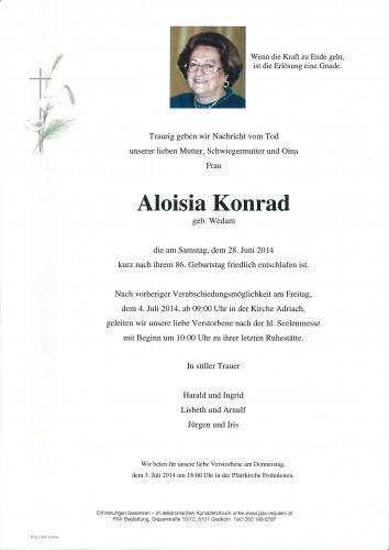 Aloisia Konrad