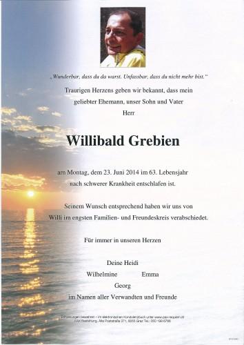Willibald Grebien