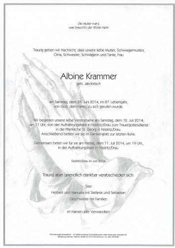Albine Krammer