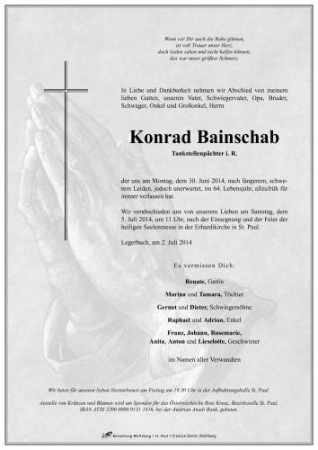 Konrad Bainschab
