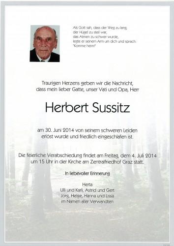 Herbert Sussitz