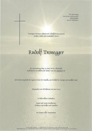 Rudolf Tronegger