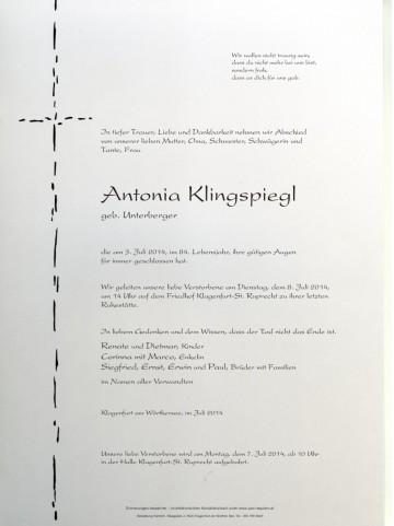 Antonia Klingspiegl