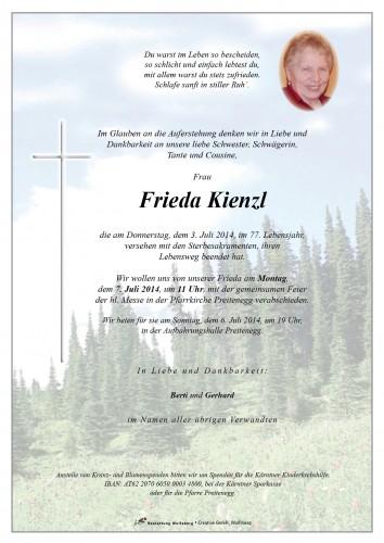 Frieda Kienzl
