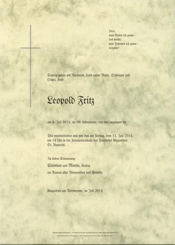 Leopold Fritz