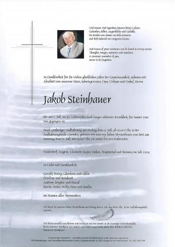 Jakob Steinhauer