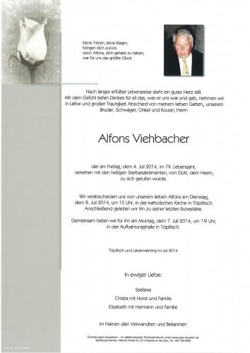 Alfons Viehbacher