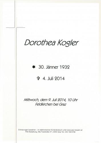 Dorothea Kogler