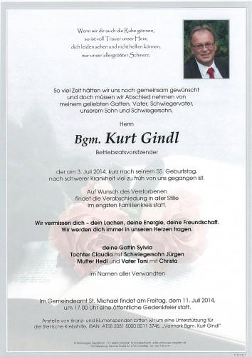 Bgm. Kurt Gindl