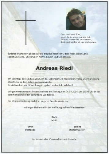 Andreas Riedl