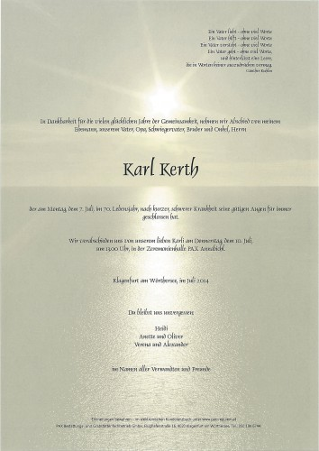 Karl Kerth