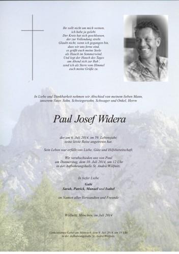 Paul Josef Widera