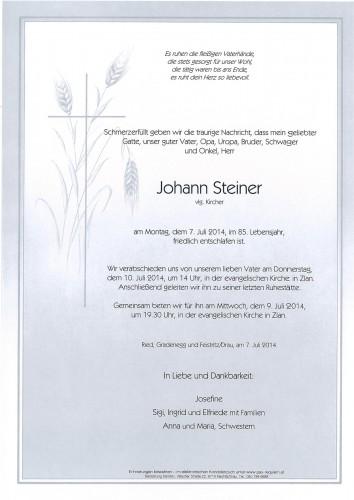 Johann Steiner