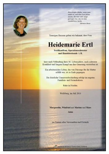 Heidemarie Ertl