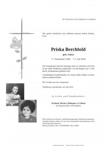 Priska Berchtold