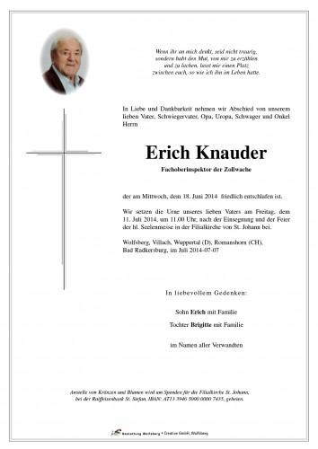 Erich Knauder