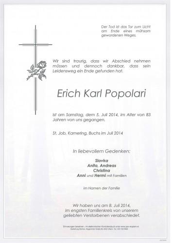 Erich Karl Popolari