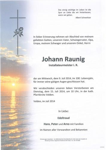 Johann Raunig