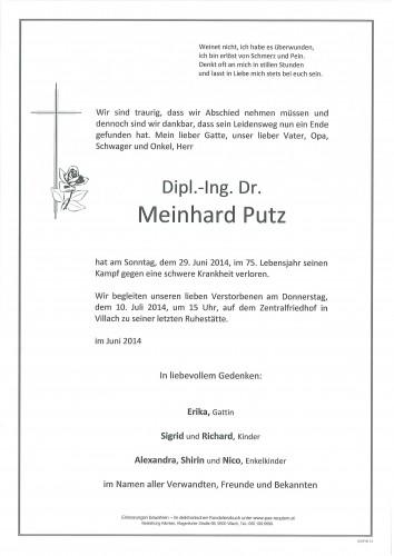 Dipl.-Ing. Dr. Meinhard Putz