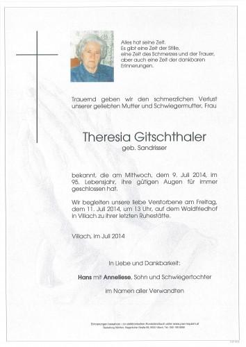 Theresia Gitschthaler