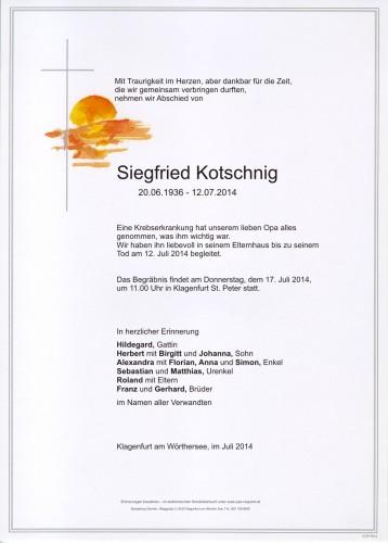 Siegfried Kotschnig