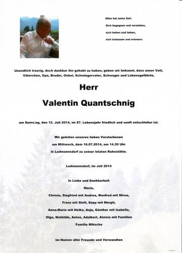 Valentin Quantschnig