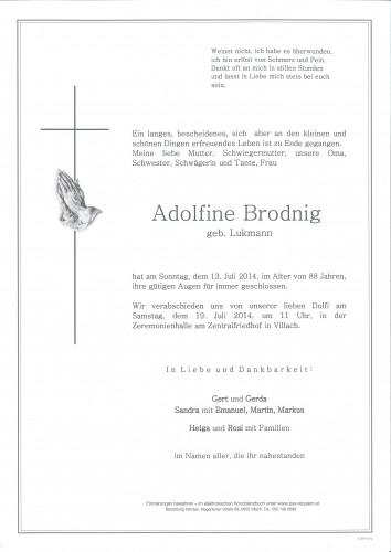 Adolfine Brodnig