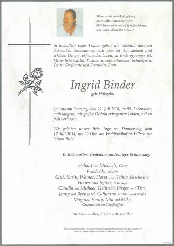 Ingrid Binder