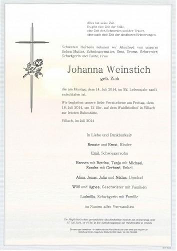 Johanna Weinstich