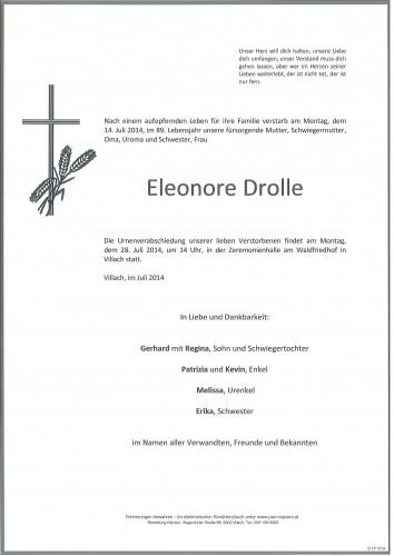 Eleonore Drolle