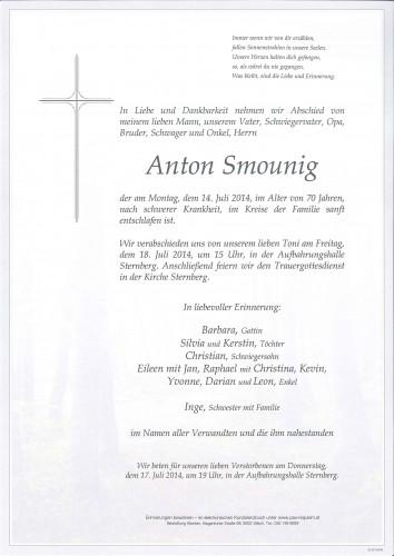 Anton Smounig