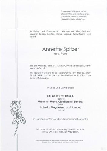 Annette Spitzer