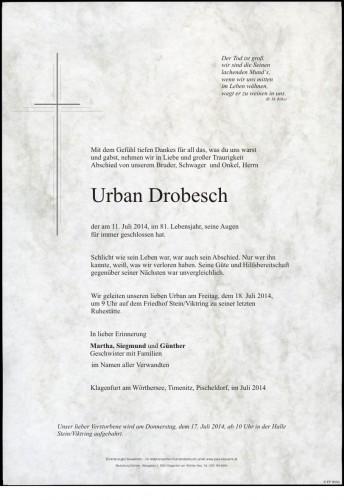 Urban Drobesch